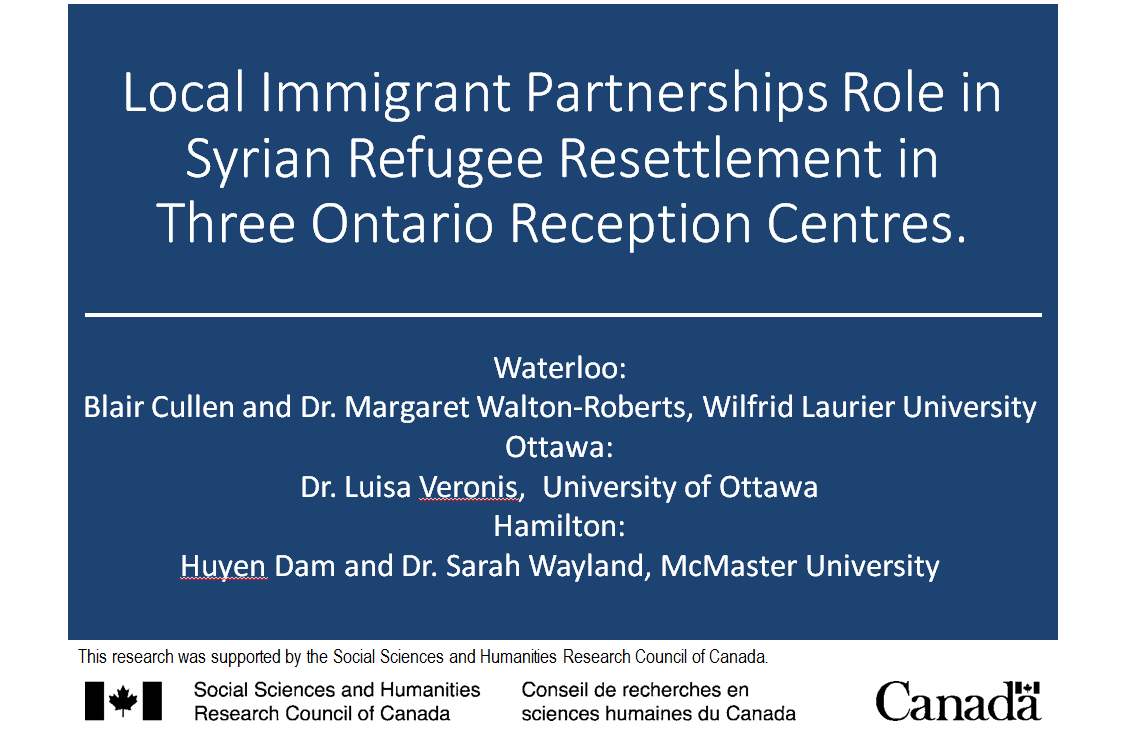 Community Forums - Immigration Waterloo Region